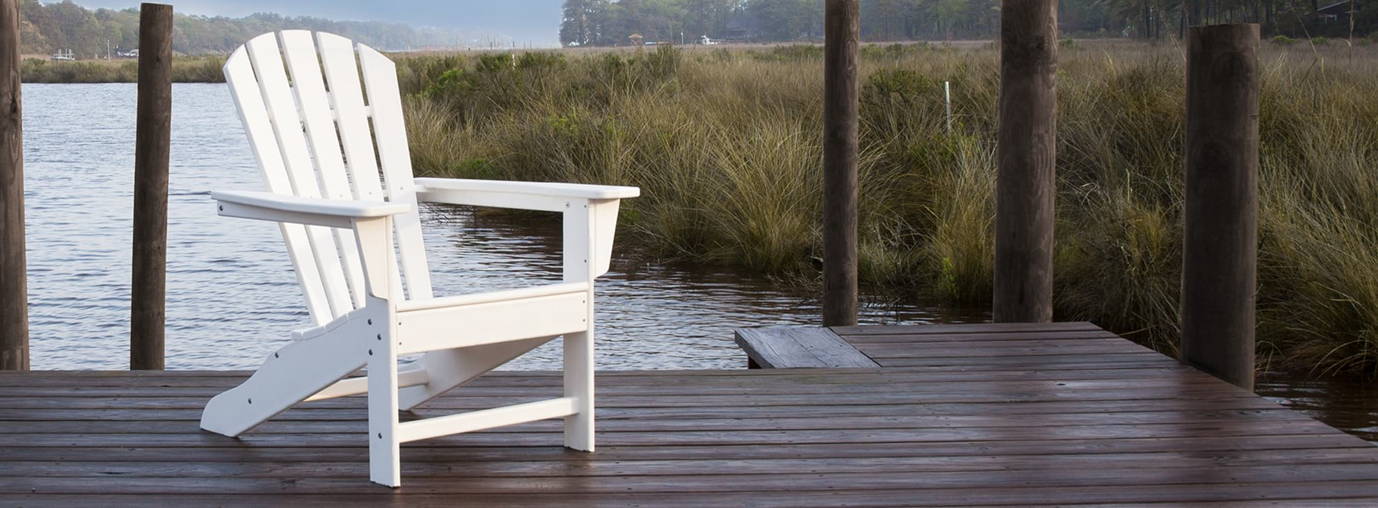 Shop Durable White Adirondack Chairs Polywood 174 Official