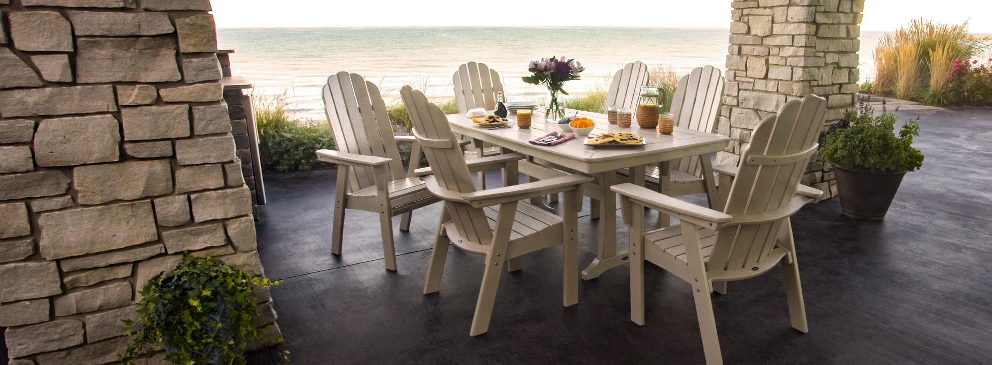 coastal & beach style outdoor furniture | polywood® official