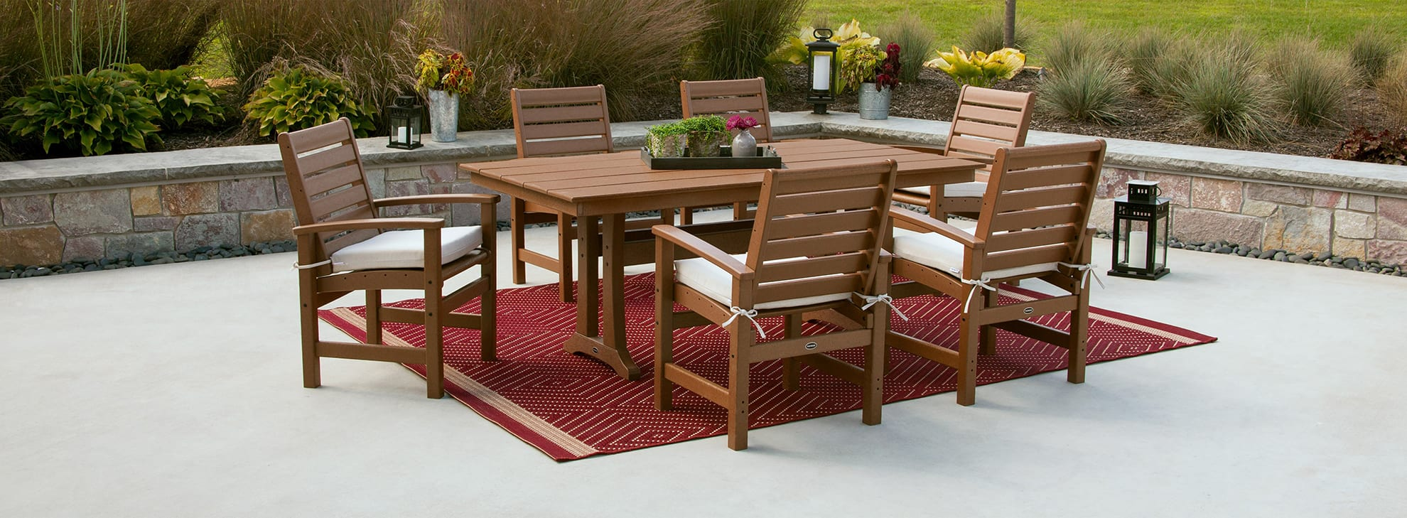 Outdoor Dining Furniture Polywood