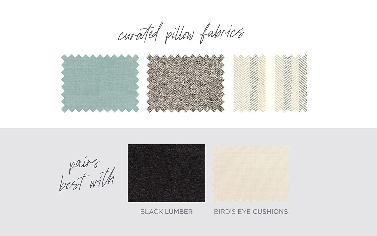 Modern Farmhouse Curated Pillow Fabrics