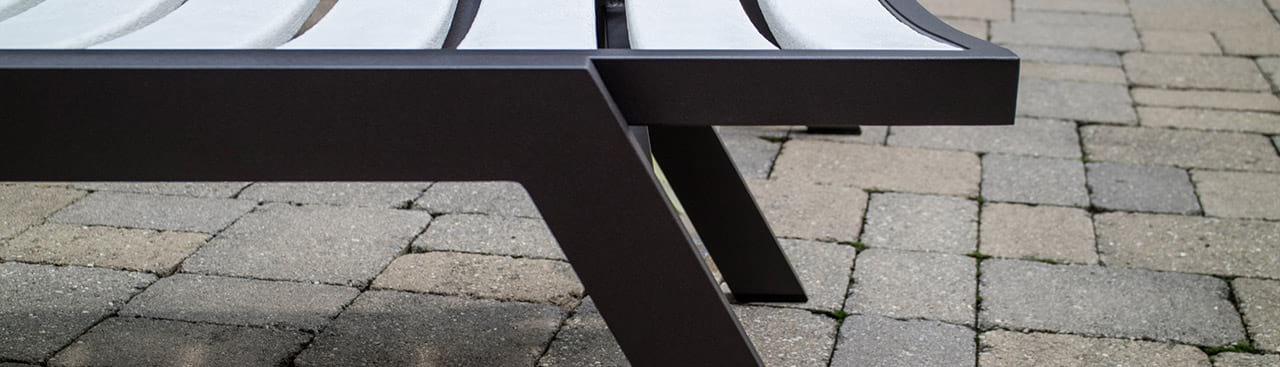 Aluminum frame example