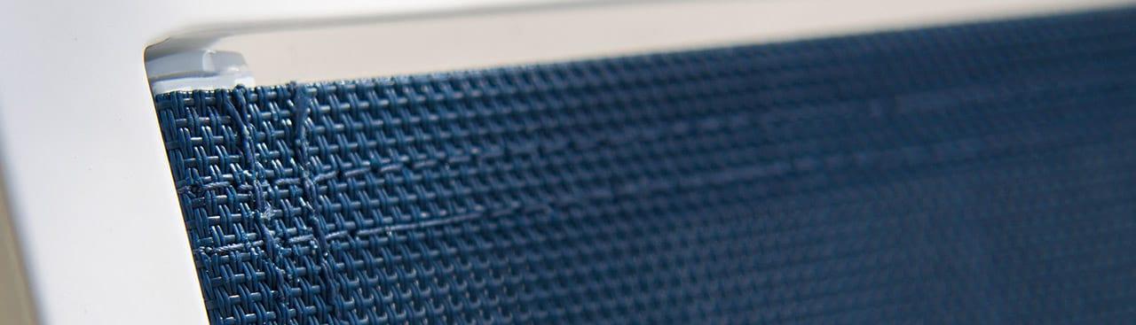 Closeup of POLYWOOD sling material