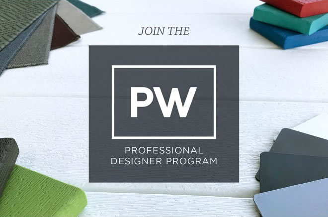 Join the PW Professional Designer Program