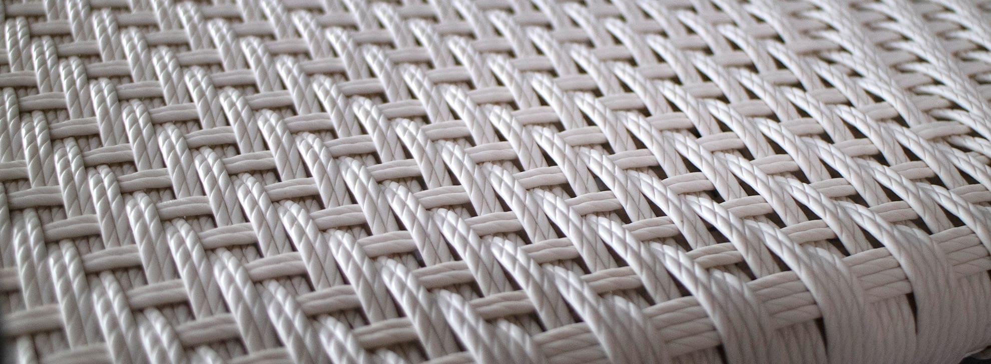 Closeup of Wicker material