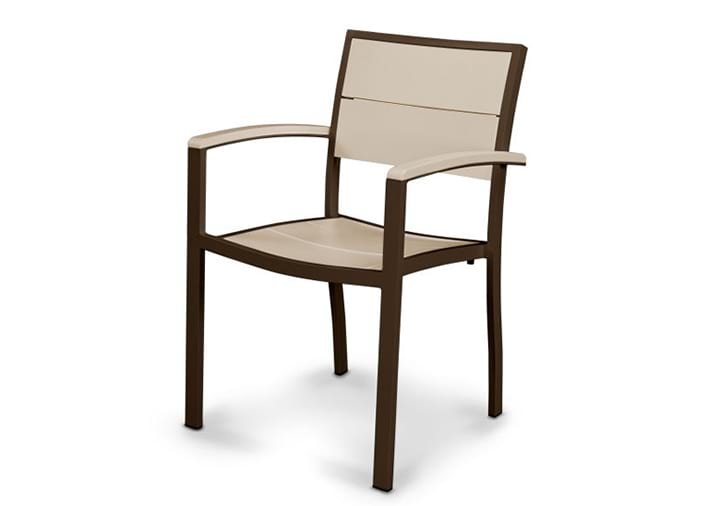 POLYWOOD Metro Dining Arm Chair