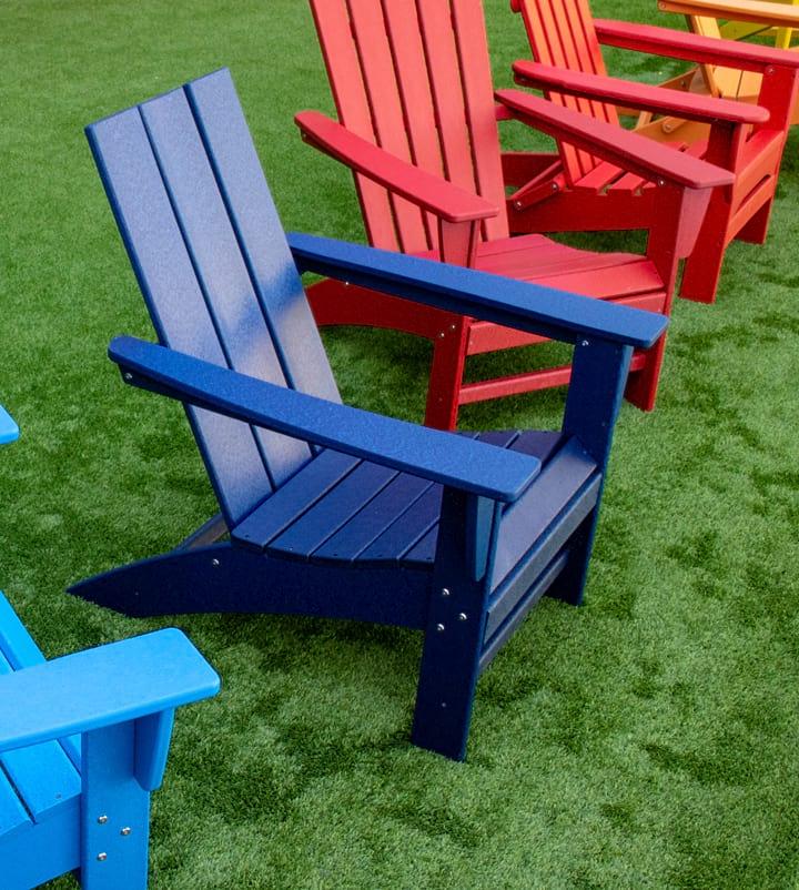 Adirondack Garden Chair Quality Resin Patio Chair Sun Lounger Deck Chair Seating