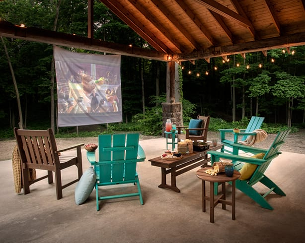 Outdoor theater example