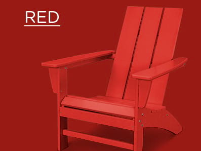 Red Adirondack Chairs